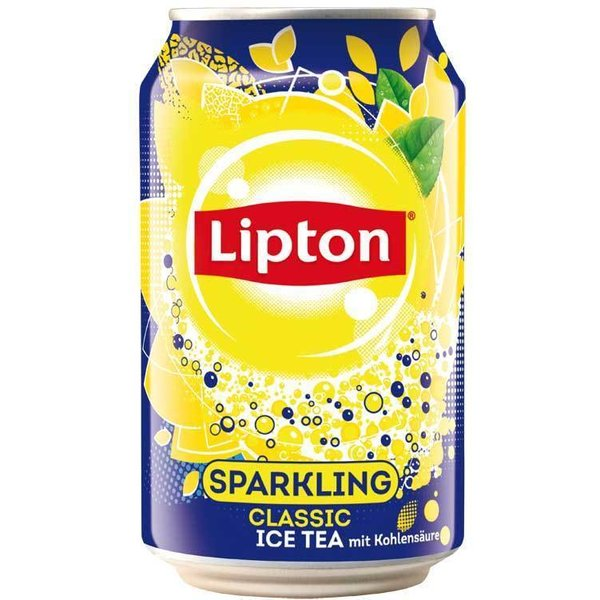 Ice tea sparkling 33cl per blik