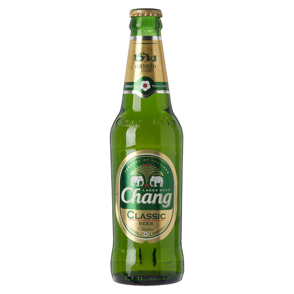Chang beer (5%) Fles 33cl